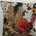 Australian Flowers Collection- Linen Cushion Covers- Handmade