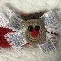 Reindeer Christmas headband- newborn to adult