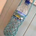 Water Bottle Carrier - Aqua Blue