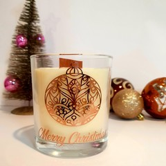 Maple Pumpkin Bread Scented Wood Wick Candle