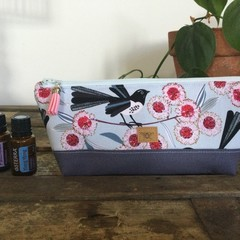 Lge. Essential Oil Purse - Willy Wagtail