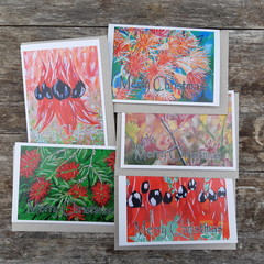 Australian Flora Christmas Card Pack