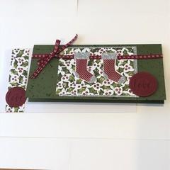 Christmas Card, Gift Voucher Card, Money Card