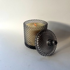 Charcoal Raindrop Woodwick candle