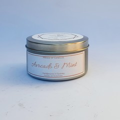 Scent Sample Avocado & Mint Scented Candle