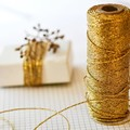 - GOLD - Metallic Bakers Twine {20m} Metallic Twine | Sparkly String