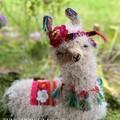 Handmade Llama No Prob-Llama Hippie Llama Handmade Llama Pillow Llama Cushion