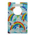 Unicorns and Rainbows Large Style Bib