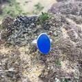 Ocean Cobalt Sea Glass Ring