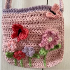 Gorgeous pink bag for your little one to treasure
