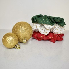 Scrunchie 3 Packs - Christmas - Free Shipping