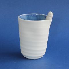 Beach Bird Vase