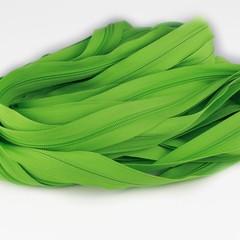 Genuine YKK  Continuous Nylon/Polyester #5 Zip colour 536 Spring Green
