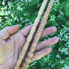 Toysofwood- Natural Wooden Wizard Wand