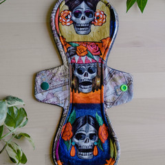 """12"""" moderate exposed core cloth pad (Versodile Moonrise)"""