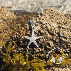 Cast Silver Sea Star Pendant