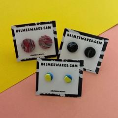 Mixed Three Pack of Stud Earrings