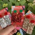 Sparkle & shine Christmas earrings