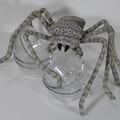 Giant Huntsman Spider Fabric Wire Soft Sculpture