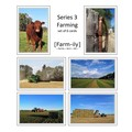 Set of 6 Farming Photo Greeting Cards