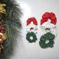 Scrunchie 3 Packs - Christmas - Free Shipping