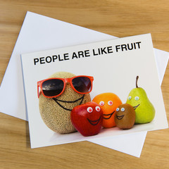 Novelty cards - The secret life of your fruit (3 pack)