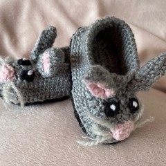 Little Bunny Slippers/ Shoes for 6-10 month old