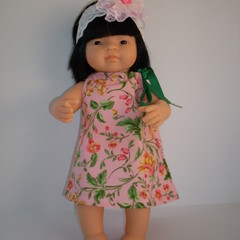 Dolls clothes for Miniland doll 38cm includes pair of undies