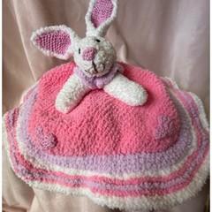 Cutest Bunny Comfort friend/blanket