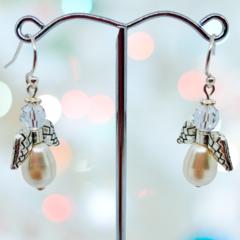 Swarovski Pearl Angels
