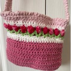 Gorgeous little shoulder bag for her little treasures.