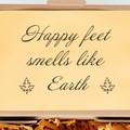 Happy Feet smells like Earth