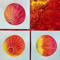 Sun rising- 3 minis for artlovers gift set