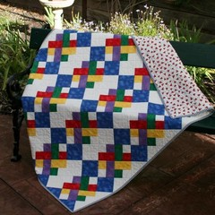 Let's Play Baby Quilt PDF (Instant Download)