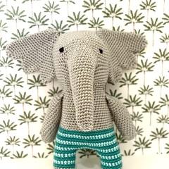 Elephant Softie, stuffed animal, READY TO POST