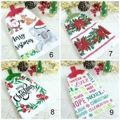 Vintage Crochet Top Single Christmas Hand Towel Kitchen Towel Tea Towel