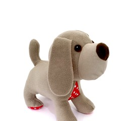 Puppy Dog Softie, stuffed animal, READY TO POST