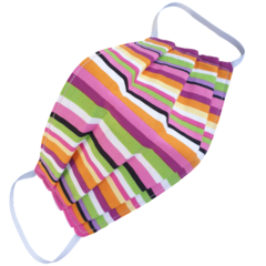REVERSIBLE 3 Layer Face Mask - 100% cotton fabric - LICORICE ALLSORTS