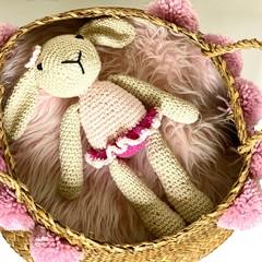 Bunny Softie, stuffed animal, READY TO POST