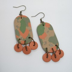 """""""All Alone On The Road"""" Statement Earrings"""