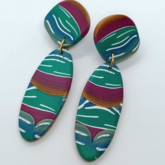 """""""Through The Forest"""" Statement Earrings"""