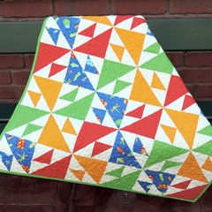 Bright Baby Quilt Pattern - PDF File (Instant Download)