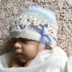 Little boy blue baby BEANIE