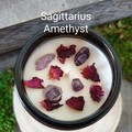Zodiac / Soy candles / Sagittarius / Birth crystals / Star sign