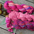 100%  Silk Ribbons x 3 Recyled Creatives Uses Limited only by your Imagination