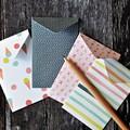 Top Fold Pocket Envelopes {12} Summer Party Prints | Money Envelopes