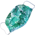 REVERSIBLE Triple Layer Face Mask - 100% cotton fabric - Jungle Fever
