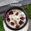 Zodiac / Soy candles / Libra / Birth crystals / Star sign