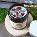 Zodiac / Soy candles / Scorpio / Birth crystals / Star sign
