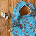 bib - platypus / organic cotton hemp fleecy / baby toddler